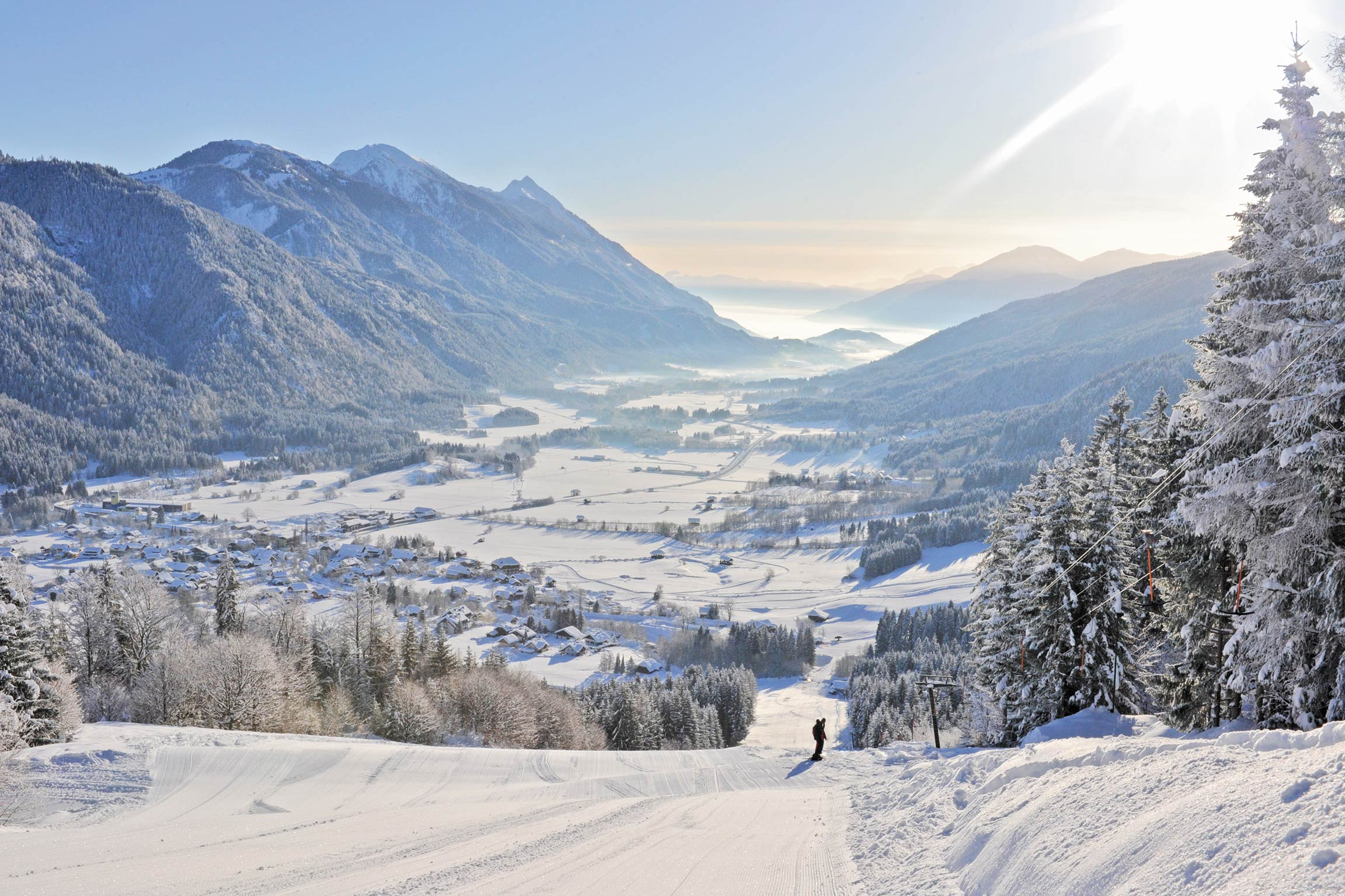 Gitschtal Panorama - © alfred santner, creativomedia as1